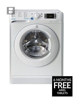 Indesit Innex BWE91484XW 9kg Load, 1400 Spin Washing Machine - White Best Price, Cheapest Prices