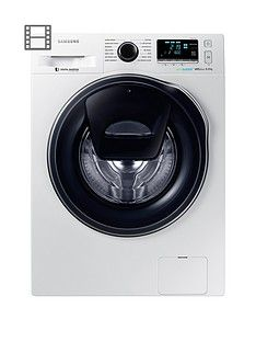 Samsung Ww80K6610Qw/Eu 8Kg Load, 1600 Spin Addwash&Trade; Washing Machine With Ecobubble&Trade; Technology - White Best Price, Cheapest Prices