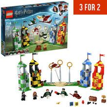 LEGO Harry Potter Quidditch Match Building Set - 75956 Best Price, Cheapest Prices