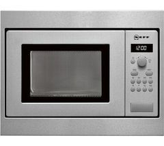 NEFF H53W50N3GB Built-in Solo Microwave - Stainless Steel Best Price, Cheapest Prices