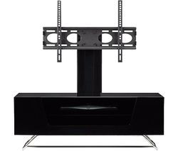 ALPHASON Chromium 2 Cantilever CRO2-1000BKT-BK 1000 mm TV Stand with Bracket - Black Best Price, Cheapest Prices