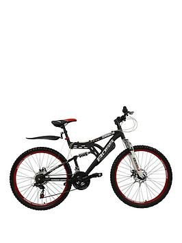 Dominator Dual Suspension Mens Mountain Bike 18 Inch Frame Best Price, Cheapest Prices