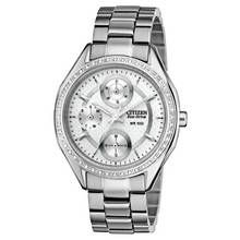 Citizen Ladies' Multi Dial Stone Set Bracelet Watch Best Price, Cheapest Prices