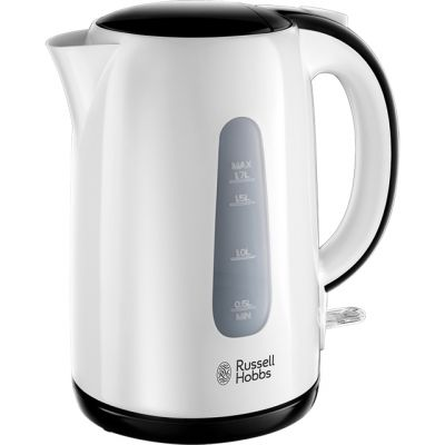Russell Hobbs My Breakfast 25070 Kettle - White / Black Best Price, Cheapest Prices