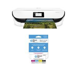 HP ENVY 5032 All-in-One Wireless Inkjet Printer & Instant Ink £3.50 Prepaid Card Bundle Best Price, Cheapest Prices