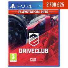 Driveclub PS4 Hits Game Best Price, Cheapest Prices