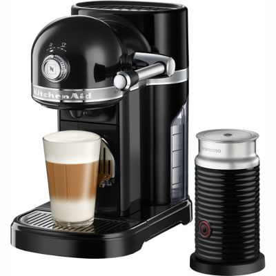 Nespresso By KitchenAid Artisan With Aeroccino3 5KES0504BOB - Black Best Price, Cheapest Prices
