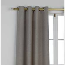 Argos Home Herringbone Lined Curtain
