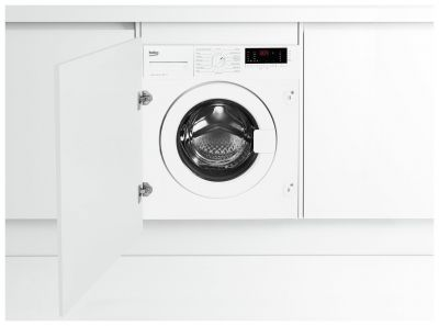 Beko WIY72545 7KG 1200 Integrated Washing Machine - White Best Price, Cheapest Prices