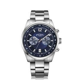 Rotary Men's Chronograph Stainless Steel Bracelet Watch Best Price, Cheapest Prices