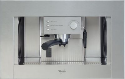 Whirlpool ACE010IX Built In Coffee Machine - Stainless Steel Best Price, Cheapest Prices