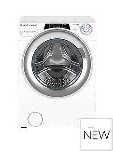 Candy RO1696DWHC7 9kg, 1600 Spin Washing Machine- White Best Price, Cheapest Prices