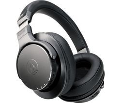 AUDIO TECHNICA ATH-DSR7BT Wireless Bluetooth Headphones - Black Best Price, Cheapest Prices