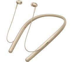 SONY h.ear Series WI-H700 Wireless Bluetooth Headphones - Gold Best Price, Cheapest Prices