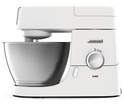 KENWOOD Chef Premier KVC3100W Stand Mixer - White Best Price, Cheapest Prices