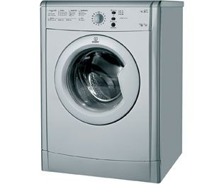 Indesit Eco Time IDVL75BRS 7Kg Vented Tumble Dryer - Silver - B Rated Best Price, Cheapest Prices