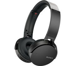SONY MDR-XB650BT EXTRA BASS Wireless Bluetooth Headphones - Black Best Price, Cheapest Prices