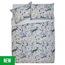 Argos Home Woodland Animals Bedding Set - Double Best Price, Cheapest Prices