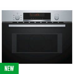 Bosch CMA583MS0B Built In Microwave - Stainless Steel Best Price, Cheapest Prices