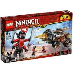 LEGO Ninjago Cole's Earth Toy Driller - 70669/t Best Price, Cheapest Prices