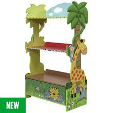 Fantasy Fields Sunny Safari Kids Children's Bookcase