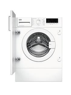 Beko WIY74545 7kg Load, 1400 spin Built-In Washing Machine with Connection - White Best Price, Cheapest Prices