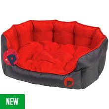 Petface Oxford Outdoor Oval Pet Bed - Extra Large Best Price, Cheapest Prices