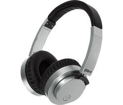 GROOV-E Fusion GV-BT400-SR Wireless Bluetooth Headphones - Silver Best Price, Cheapest Prices