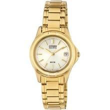 Citizen Ladies' Eco-Drive Gold Tone Bracelet Watch Best Price, Cheapest Prices