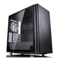 Fractal Design Define Mini C TG, MicroATX Computer Chassis, with Tempered Glass Window, MicroATX/Mini-ITX, 2x 120mm Fans Best Price, Cheapest Prices