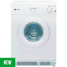 White Knight C44A7W 7KG Vented Tumble Dryer - White Best Price, Cheapest Prices