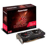 PowerColor Radeon RX 5500 XT Red Dragon 8GB GDDR6 PCIe 4.0 Graphics Card, 7nm RDNA, 1408 Streams, 1685MHz, 1845MHz Boost Best Price, Cheapest Prices