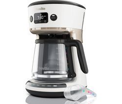 BREVILLE Mostra Easy Measure Filter Coffee Machine VCF116 - White Best Price, Cheapest Prices