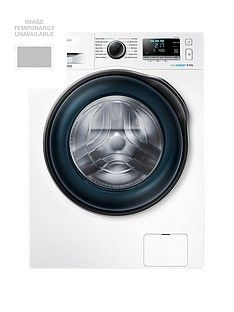 Samsung WW80J6410CW/EU 8kg Load, 1400 Spin Washing Machine with ecobubble™ Technology and 5 Year Samsung Parts and Labour Warranty - White Best Price, Cheapest Prices