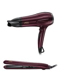 Nicky Clarke NGP227 Hairdryer and Straightener Gift Set Best Price, Cheapest Prices