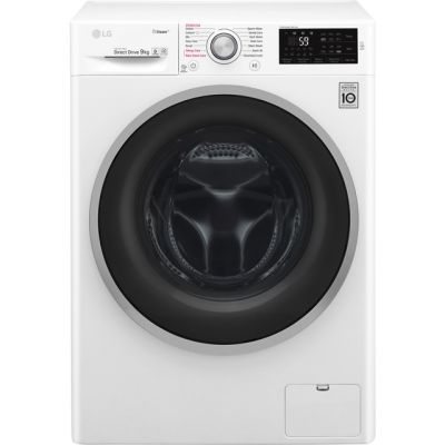 LG J6 F4J609WS 9Kg Washing Machine with 1400 rpm - White - A+++ Rated Best Price, Cheapest Prices