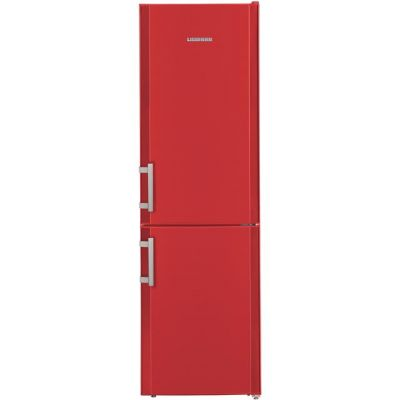 Liebherr CUfr3311 60/40 Fridge Freezer - Red - A++ Rated Best Price, Cheapest Prices