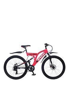 Bronx Bolt Dual Suspension Ladies Mountain Bike 18 inch Frame Best Price, Cheapest Prices