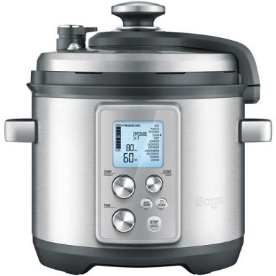 Sage The Fast Slow Pro BPR700BSS 6 Litre Pressure Cooker - Stainless Steel Best Price, Cheapest Prices