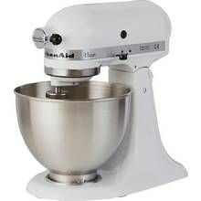 KitchenAid 5K45SSBWH Classic Stand Mixer - White Best Price, Cheapest Prices