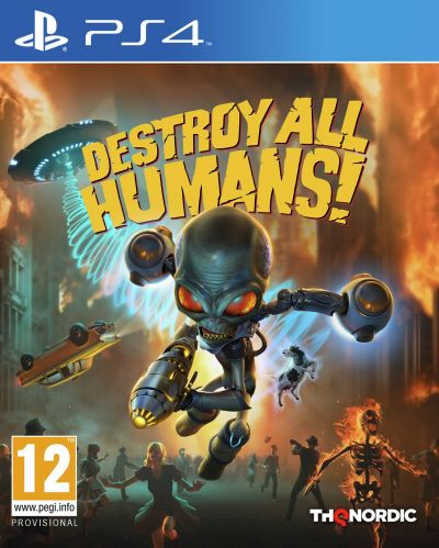 Destroy All Humans Remake PS4 Pre-Order Game Best Price, Cheapest Prices