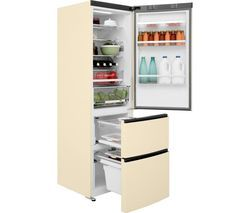HAIER A3FE635CCJ 70/30 Fridge Freezer - Cream Best Price, Cheapest Prices