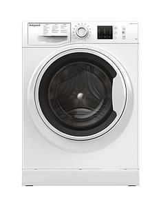 Hotpoint NM10944WW 9kg Load, 1400 Spin Washing Machine - White Best Price, Cheapest Prices