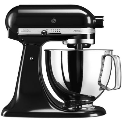KitchenAid Artisan 5KSM175PSBOB Stand Mixer with 4.8 Litre Bowl - Onyx Black Best Price, Cheapest Prices