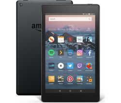 AMAZON Fire HD 8 Tablet (2018) - 16 GB, Black Best Price, Cheapest Prices