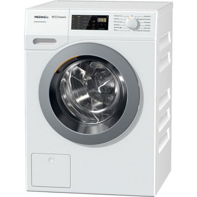 Miele W1 WDD030 8Kg Washing Machine with 1400 rpm - White - A+++ Rated Best Price, Cheapest Prices