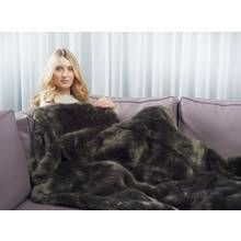 Relaxwell By Dreamland Intelliheat Faux Fur Heated Throw Best Price, Cheapest Prices