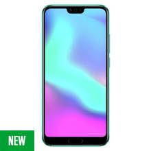 SIM Free HONOR 10 128GB Mobile Phone - Phantom Green Best Price, Cheapest Prices