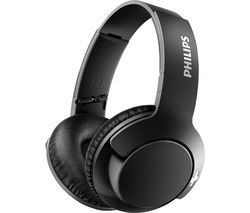 PHILIPS BASS+ SHB3175BK Wireless Bluetooth Headphones - Black Best Price, Cheapest Prices