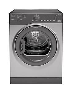 Hotpoint Aquarius TVFS73BGG.9 7kg Vented Sensor Tumble Dryer - Graphite Best Price, Cheapest Prices